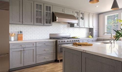 Nova Light Grey kitchen